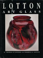 Charles David Daniel John Lotton Art Glass / Scarce Illustrated Book