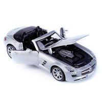 MERCEDES BENZ SLS AMG ROADSTER 1:24 Car Metal Model Die Cast Models Diecast
