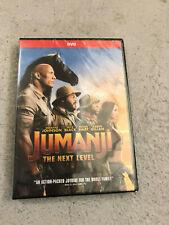 Jumanji: The Next Level (DVD, 2019) Brand New!