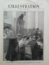L' ILLUSTRATION 1906 N 3306 LES STENOGRAPHES  FEMININES DE LA DOUMA EN RUSSIE