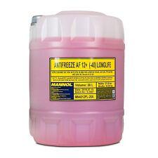 20 (1x20) Liter MANNOL Antifreeze AF12+ Frostschutz Fertiggemisch rot (-40°C)