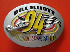 BILL ELLIOTT 94 NASCAR McDonalds Super américain boucle ceinture #1877