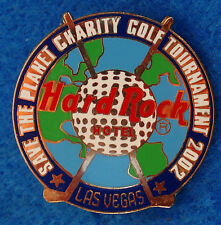 1ST las Vegas Hotel Hard Rock Café Charity Golf Torneo Evento No Venta Pin
