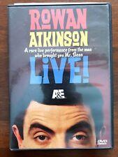 Rowan Atkinson Live! (DVD, 2007) A&E Comedy Special Mr. Bean Region 1 OOP