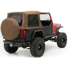 Soft Top for Jeep Wrangler YJ 1987-1995 Replacement Tinted Windows Spice 9870217