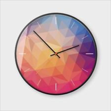 Wall Clocks 3D Modern Minimalist Quartz Clock Nordic Silent Living Room Decor