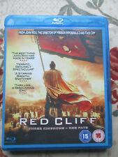 RED CLIFF 2009 FILM DIRECTED BY JON WOO BLU-RAY DISC REGION B UK