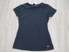 Damen - Frauen T - Shirt in Schwarz mit kurzen Ärmel in Gr. 38 von Street One