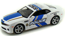 CHEVROLET CAMARO SS RS POLICE 1:24 Scale Diecast Car Model Die Cast Cars Models