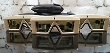 Lot of 3 Vintage CrystalEyes StereoGraphics CE-PC 3D Glasses + Emitter
