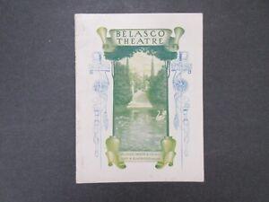 1908 Vintage BELASCO THEATRE Los Angeles PROGRAM