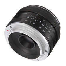 Neutral 50mm F2.0 Focus Fixed MF Lens for Canon EOS M1 M2 M3 DSLR Camera
