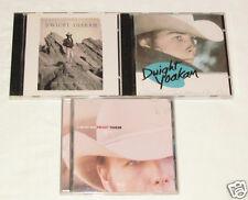 DWIGHT YOAKAM 3 CD LOT COLLECTION ALBUMS A long Way Home/Guitars Cadillacs/Hit