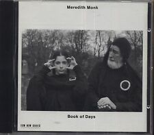 MEREDITH MONK - Book of days - CD 1990 COME NUOVO