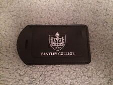 Bentley College Luggage Tag
