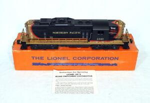 Postwar Lionel Northern Pacific GP-9 Diesel Locomotive~w/Nice OB & Instructions