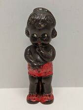 VINTAGE 30S 40S CELLULOID BLACK BABY RATTLE DOLL RB MADE IN CANADA VINTAGE TOY