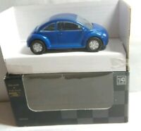 NEW RAY CITY CRUISER COLLECTION 1:43 DIECAST - VOLKSWAGEN VW BEETLE BLUE - NR522