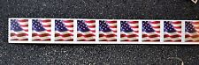 2017USA #5159 Forever U.S. Flag US  PNC Plate Number (#P1111) Coil Strip 9 (APU)
