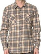 QUIKSILVER Men's TURNER ISLAND L/S Flannel Shirt - KQY0 - M - NWT
