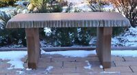 """Concrete mold bench top long 40"""" cover cement concrete benches top only B03"""