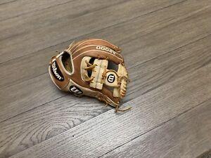 "Wilson A2000 1786 11.5"" I Web Baseball Glove Brown Camel"