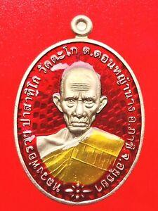 Buddha amulets Colorful LP Ruay Pasathigo Sacred object Asia Amulets Thailand