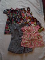 Girls 100 3 4 5 Years 4 Piece Lot Summer Gymboree Polly Flinders Dresses Top EUC