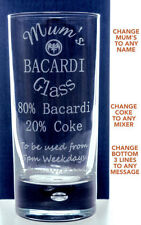 BACARDÍ Collectable Glasses/Steins/Mugs Glasses