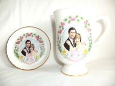 HRH Prince William Commemorative Birth Porcelain Cup & Saucer UK England + CD