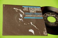 "JOHNNY HALLYDAY 7"" JE L'AIME ORIG ITALIAN 1966 EX+ !!!!!!!!!!!!!!!!!!!!!!!!!!!"