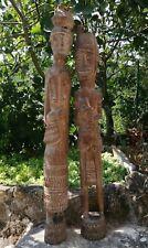 Coppia Di Sculture Toraja (Sposi). Sulawesi