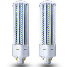 Two SLI 13 watt 13w//827 Twin Double Tube 4 pin G24q-1 base CFL 2700K
