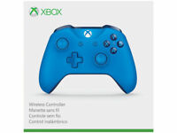 Genuine Microsoft Xbox One S Blue Wireless Bluetooth Controller WL3-00018
