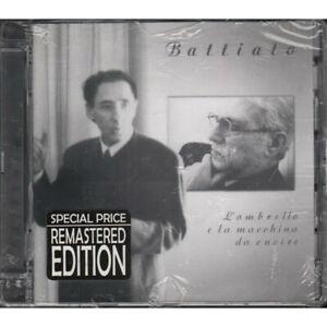 Franco Battiato CD L'Ombrello E La Macchina Da Cucire Remastered Sigillato