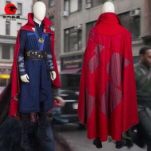 DFYM Doctor Strange Cosplay Costume Stephen Steve Vincent Strange Deluxe Outfit
