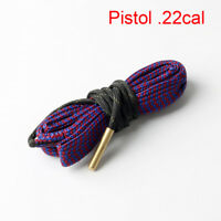 Bore Snake Cleaning Pistol .22cal Caliber Boresnake Barrel Brass Cleaner