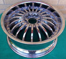 "Revvo Chrome Tire Rim Wheel 18"" x 7.5"" Hot Rod Super Rare Vintage Used"
