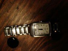 armani watch dames zilver color
