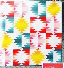 Solar Eclipse - modern version of traditional quilt PATTERN - Elizabeth Hartman