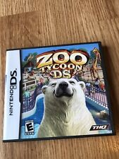 Zoo Tycoon DS (Nintendo DS, 2005) Tested & Works - VC2