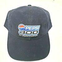 Nascar Pepsi 400 Daytona Mens Strapback Cap Hat Navy Blue Valvoline Racing