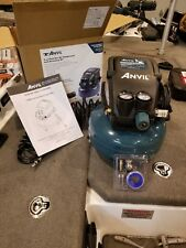 Anvil Electric 2 Gallon Pancake Air Compressor with 25 ft. Coil Hose 1002714647