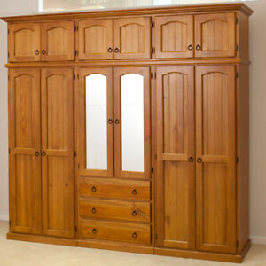 CL 2400W-4P LOCAL MADE WARDROBE in 4 PIECES