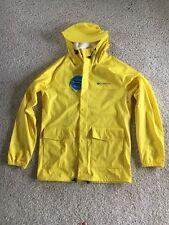 Columbia sportswear jacket men's waterproof ibex jacket men's yellow raincoat
