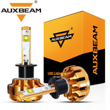 AUXBEAM F-16 SERIES H1 CREE LED Headlight Lamps Bulbs 60W 6000LM White 6000K