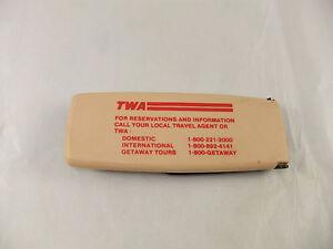 Vintage TWA Trans World Airlines Brush Advertising Airways
