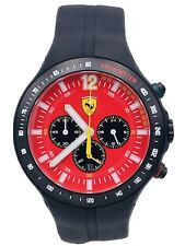 Watch Ferrari F1 Club 45mm FER01/428 Chrono Steel Rubber on Sale New