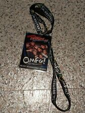 McBusted Most Excellent Adventure Tour VIP Lanyard OMFG I Met McFly Busted M&G.