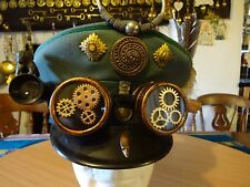 { COLONIAL HUNTER }  Victorian / Edwardian Steampunk Hat Unique Art to wear/show